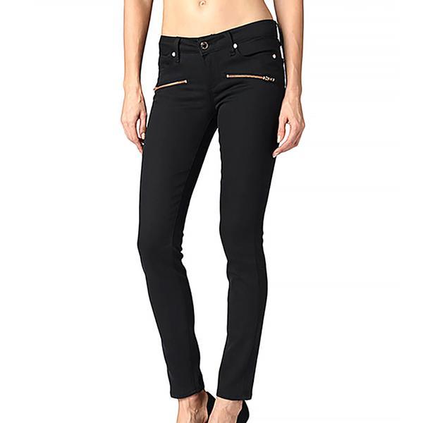 Paige Indio Zip Jeans