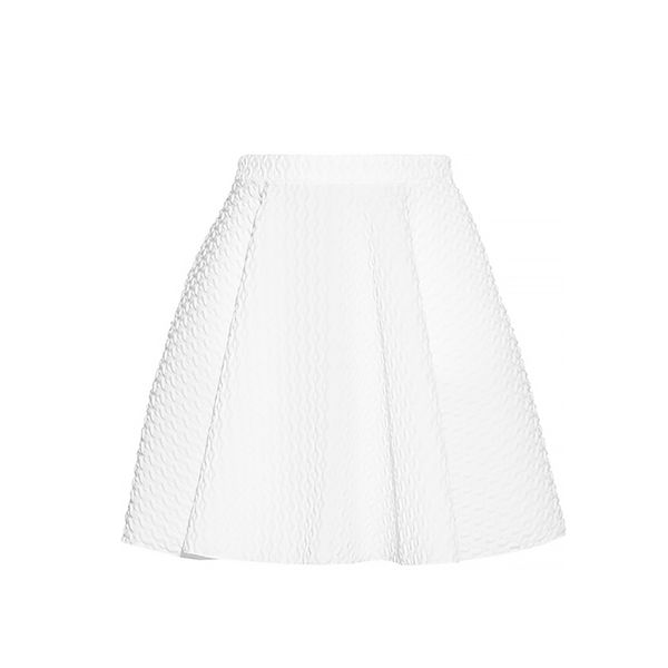 Faith Connexion Flared Matelasse Skirt