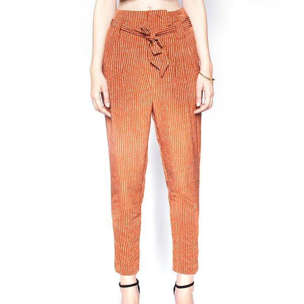Pixie Market Hammer Stripe Pants