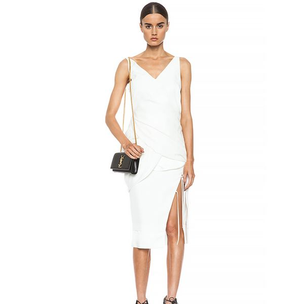 Altuzarra Lotus Lyocell-Blend Drape Dress