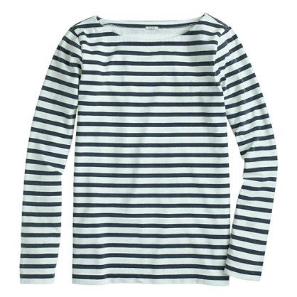 J.Crew Long-Sleeve Sailor-Stripe Tee