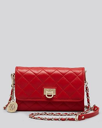 DKNY Gansevoort Quilted Small Flap Crossbody