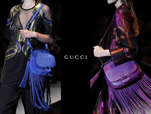 Check Out Gucci's Fringe Benefits