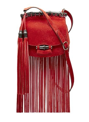 Gucci Nouveau Fringe Shoulder Bag