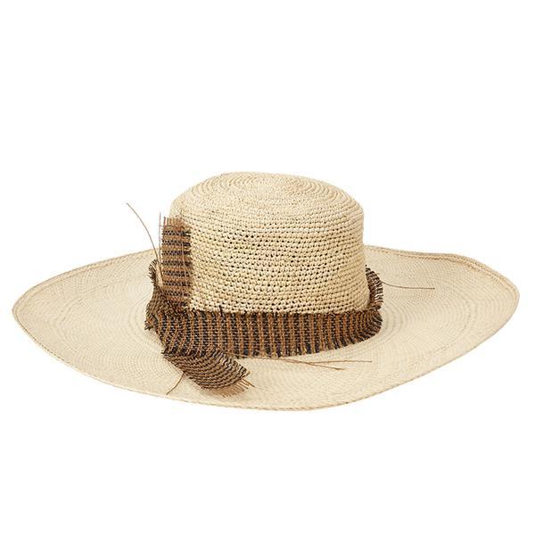 Albertus Swanepoel Aquitaine Wide-Brim Hat