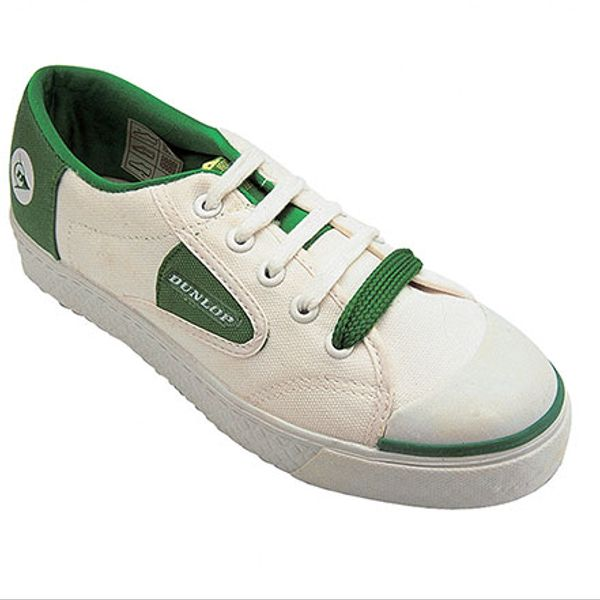 Dunlop Green Flash DU1555 Non-Marking Trainers