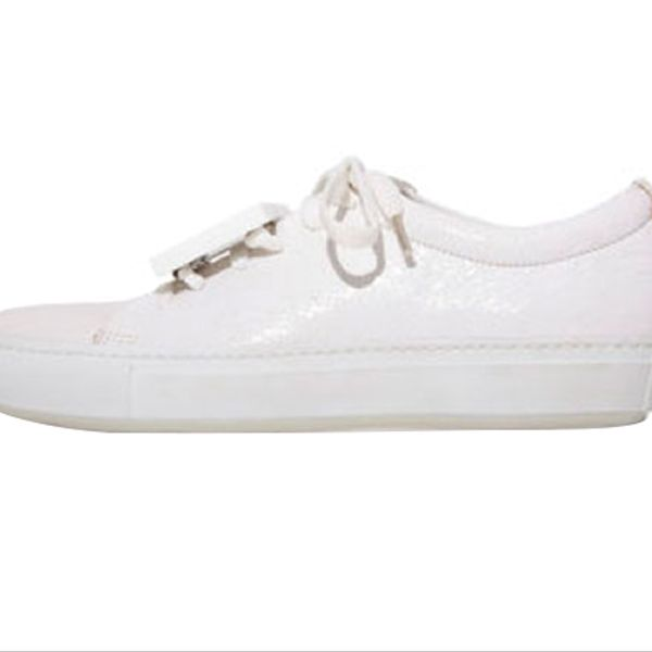 Acne Studios Adriana Crackled Sneaker