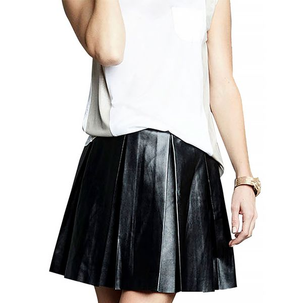 Tart Collections Evangeline Vegan Leather Skirt