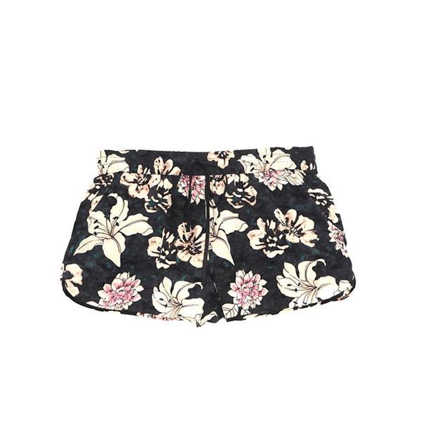 Elizabeth and James Floral Print Silk Shorts