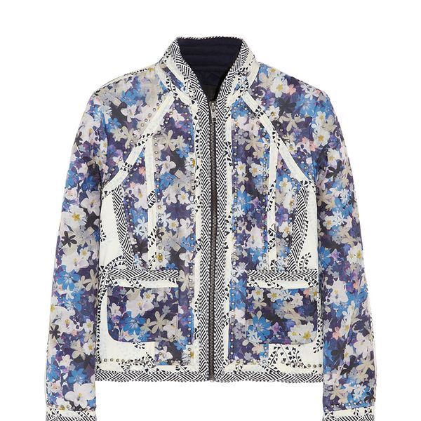 J.Crew Collection Floral-Print Cotton and Silk-Blend Jacket