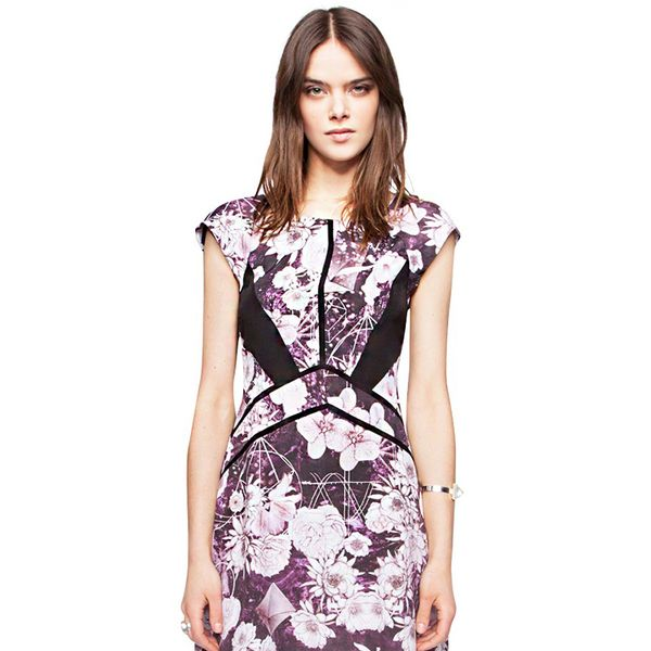 Pixie Market Viola Floral Dress