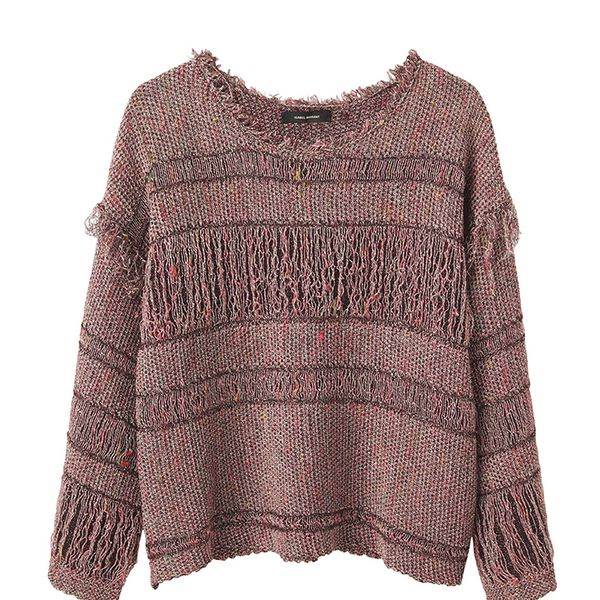 Isabel Marant Glimy Linen-Blend Sweater