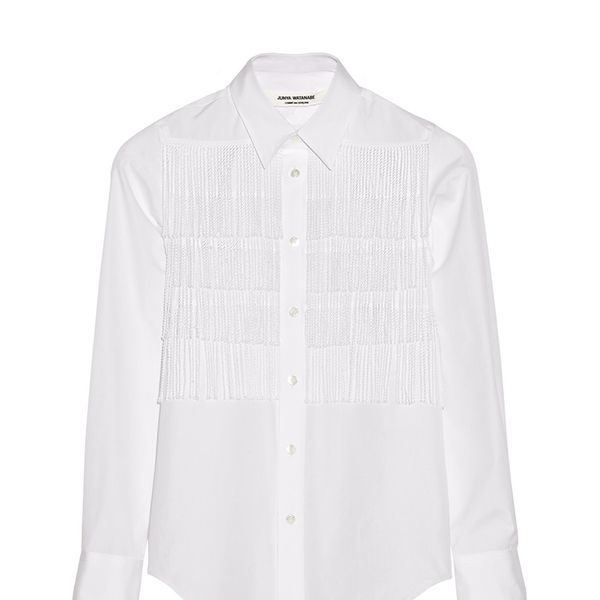 Junya Watanabe Fringed Cotton Shirt