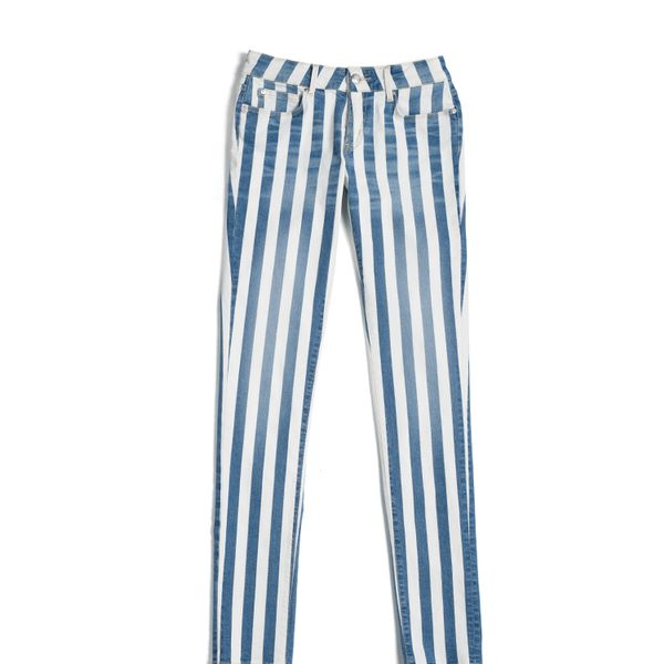 Tommy Hilfiger Stripe Printed Skinny Jeans