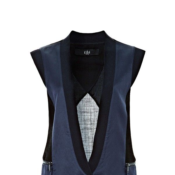 Tibi Fog Easy Vest