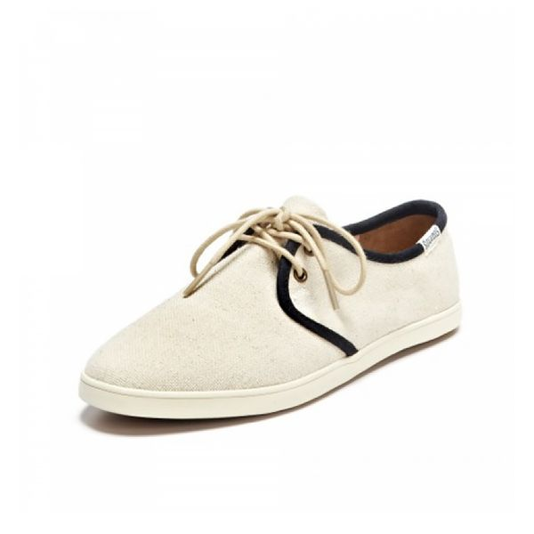 Soludos Woven Lace Up