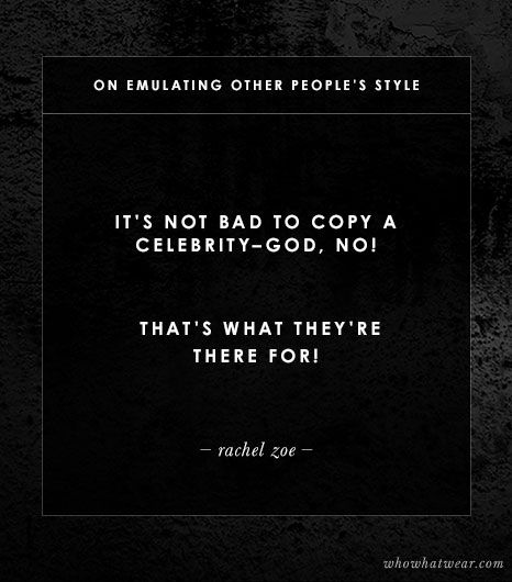 On Emulating Other People's Style