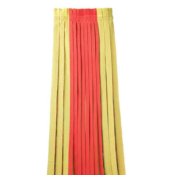 Tsumori Chisato Pleated Striped Skirt