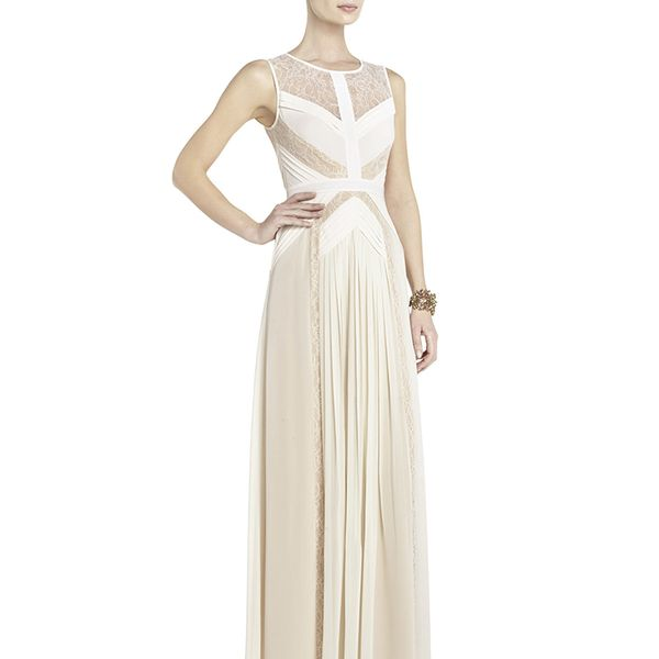 BCBG Avi Pleated Gown