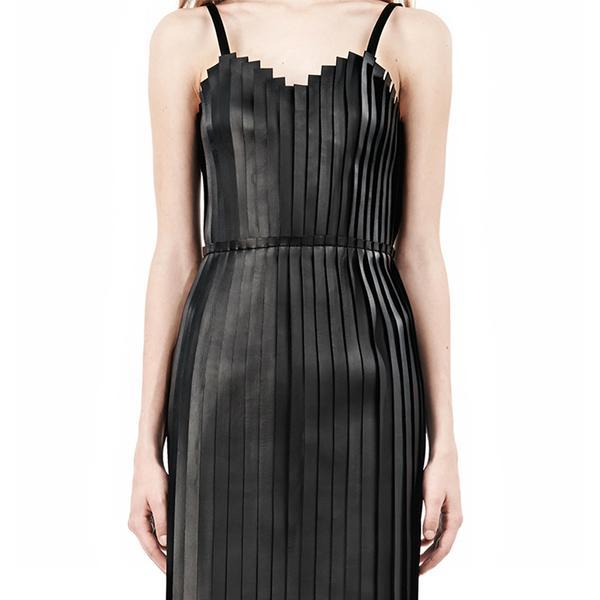 Alexander Wang Vinyl Camisole Dress