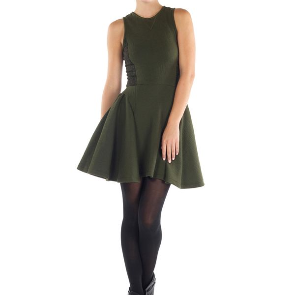 Timo Weiland Green Inez Dress
