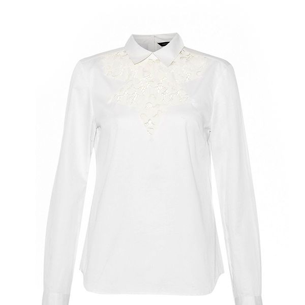 Summer Fresh Lace Insert Top French Connection