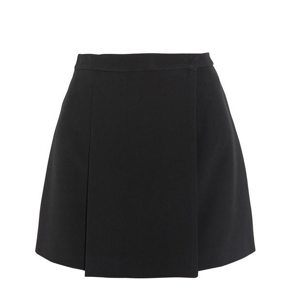 Miu Miu Pleated Cady Mini Skirt