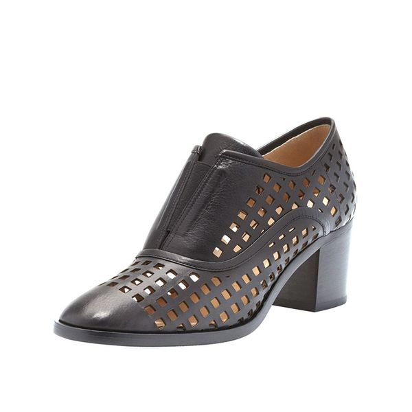 Reed Krakoff Perforated Slip-On Oxfords