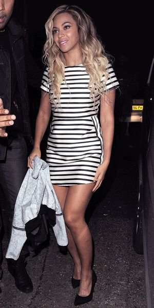 Beyonce's Under $150 Stripe Dress