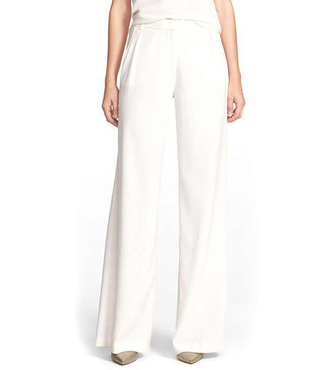 Must-Try Look #2: A Wide Leg Pant and Feminine Top