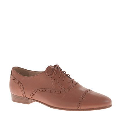 J.Crew Leather Oxfords
