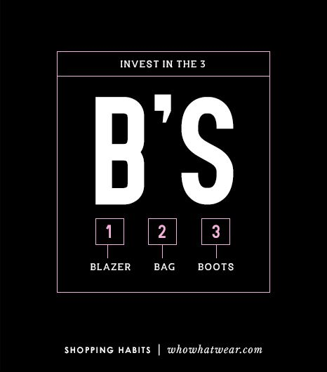 3. Invest In The 3 Bs: Blazer, Bag, and Boots 