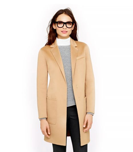 J. Crew Collection Cashmere Topcoat