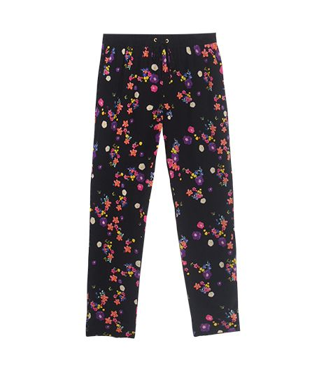 Juicy Couture Silk Pansy Meadow Pant