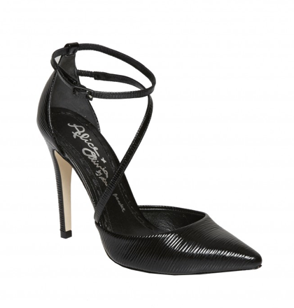 Alice + Olivia Delia Patent Leather Heels