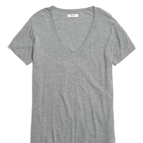 Madewell V-Neck Slouch Tee Shirt