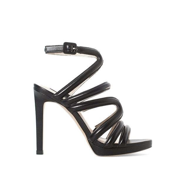 Zara Strappy Heeled Sandals