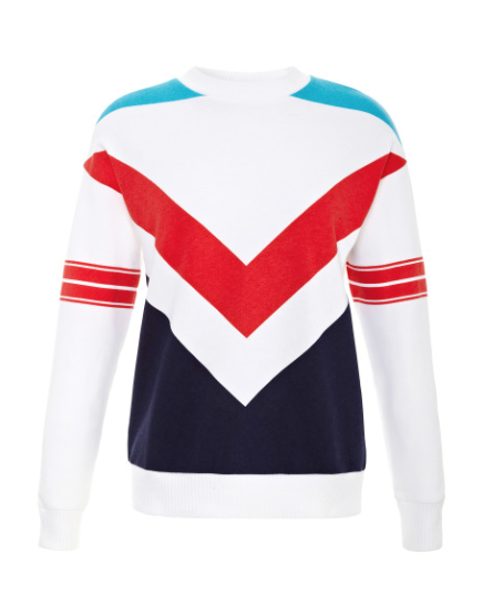 Etre Cecile Printed Cotton and Jersey Sweatshirt