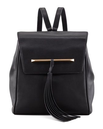B Brian Atwood Juliette Small Leather Backpack