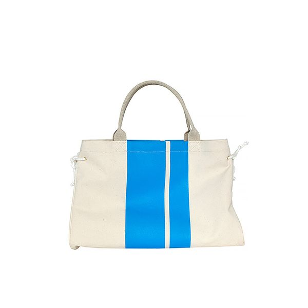 Clare Vivier Canvas Stripe Tote