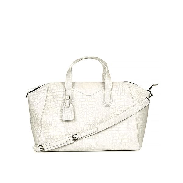 Topshop Croc Winged Luggage Bag