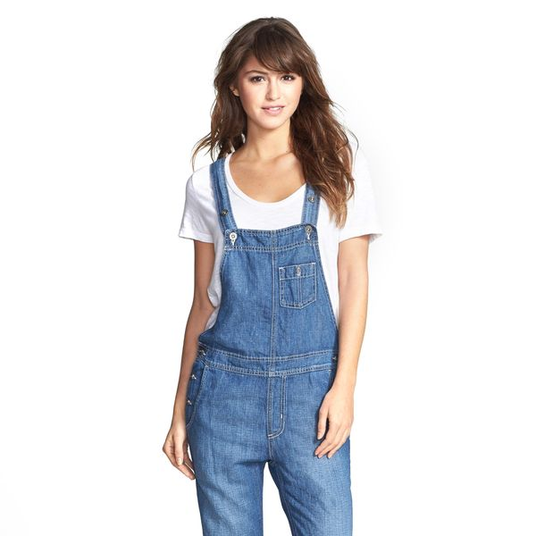 Big Star Heather Denim Overalls