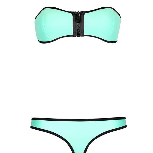 Triangl Winnie Bandeau Neoprene Bikini