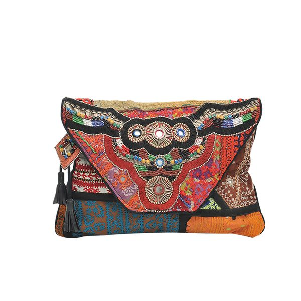 Antik Batik Aeden Wallet Large Clutch