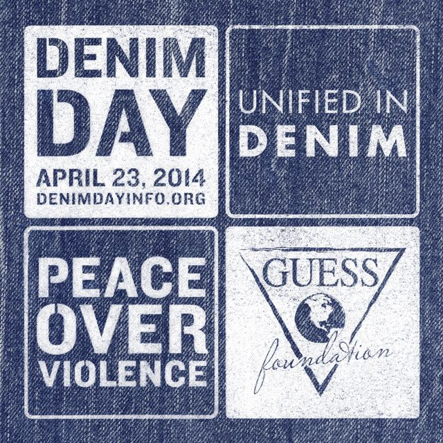 Denim Day: Join The Movement With GUESS