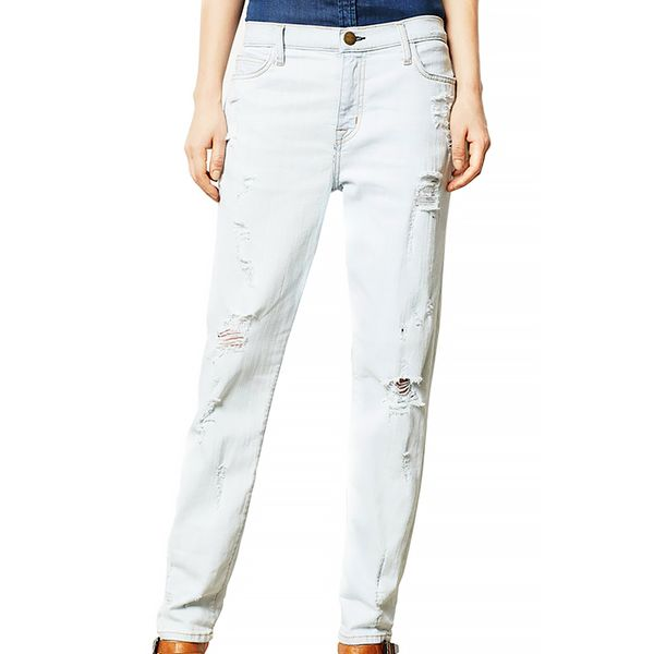 Current/Elliott Fling Boyfriend Distressed Jeans