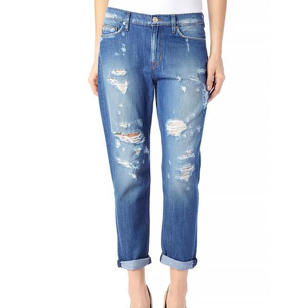 Hudson Jade Slouchy Skinny Crop Jeans