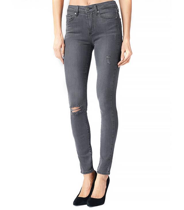 Paige Denim Hoxton / Kate Destructed Jeans ($199)  Wear These Jeans With: A crisp button-down + black pumps