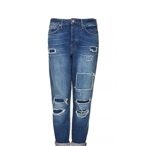 Topshop Moto Hayden Rip and Repair Jeans