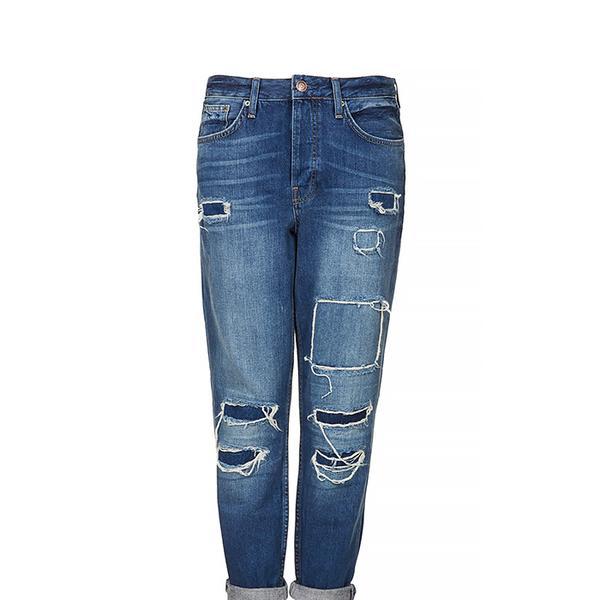 Topshop Moto Hayden Rip and Repair Jeans
